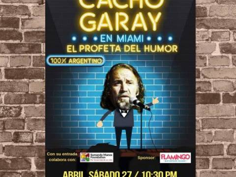 CACHO GARAY EN MIAMI