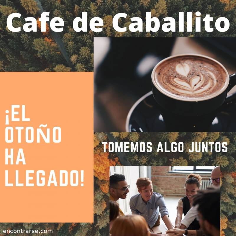 Encuentro : Cafe de Caballito virtual por zoom